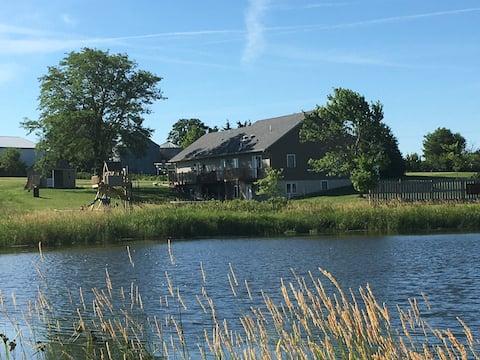 Pond-view Suites