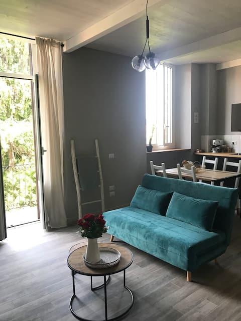 Appartamento in centro Arona, parcheggio gratuito