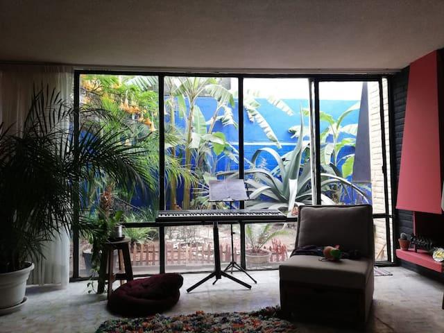 Permítete vivir la atmósfera de tranquilidad que la sala compartida puede otorgar!!