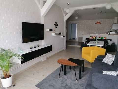 Central Loft Apartment im Seebad Ueckermünde