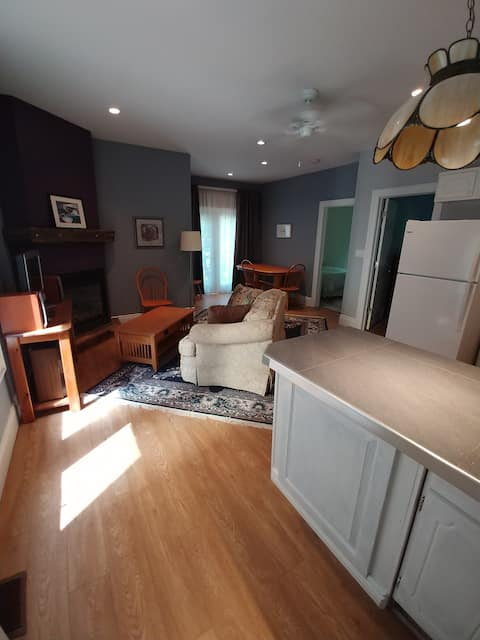 Private two-bedroom loft suite in Bayfield