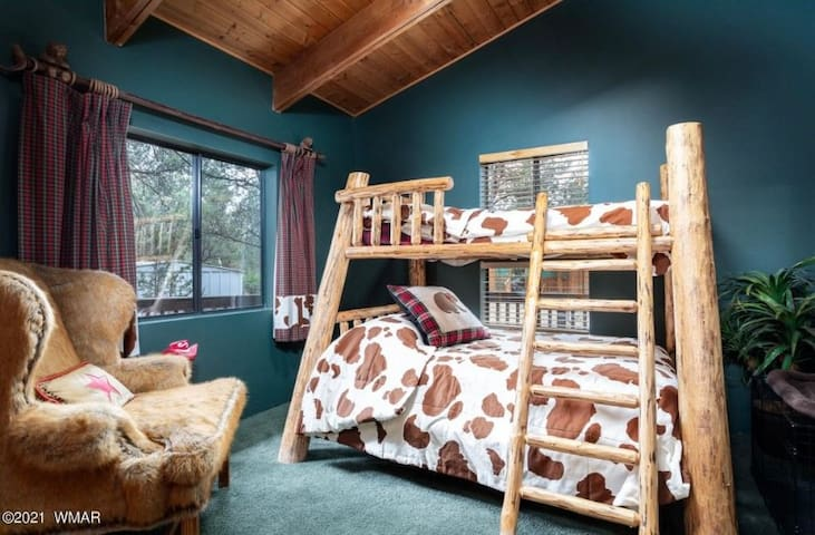 Bedroom #3 Includes a Bunk Bed Double on bottom Twin on top