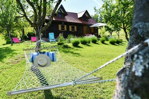 Rural Holiday House Tinna-Atraktivna drvena kućica