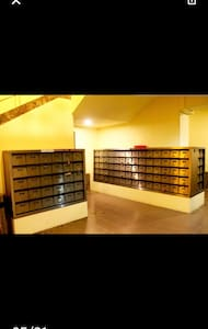 Located at Basement 1 where all the mailboxes of the units are found there.