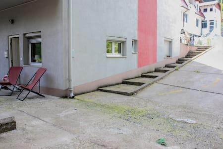 Пътека без стъпала към входа за гости