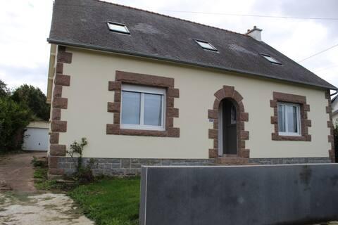 Maison lumineuse et spacieuse