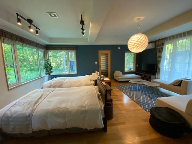 リビング兼ベッドルーム