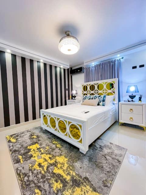NUEVO ⭐️ lujoso penthouse con jacuzzi privado!