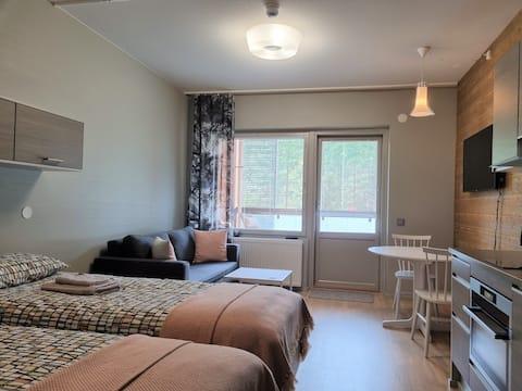 Hyvin varusteltu yksiö 27 m² , Vierumäki Chalets 6