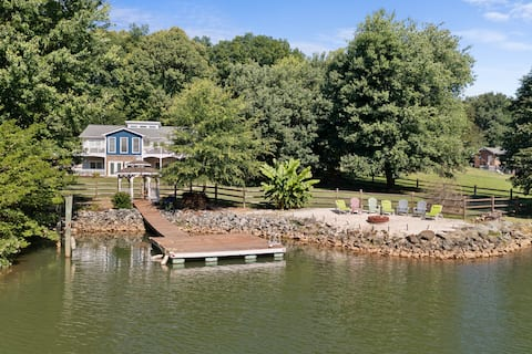 AMAZING Waterfront Oasis w/ Private Beach & Views!