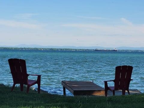 Lancaster Waterfront Retreat
