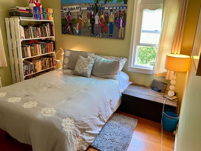 First floor guest room.