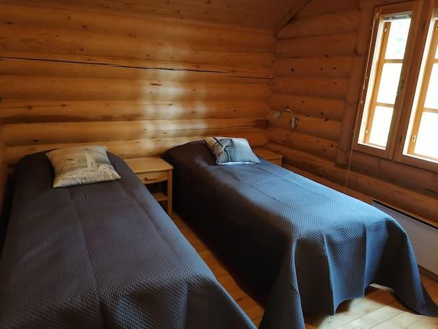 Makuuhuone 2: kaksi vuodetta