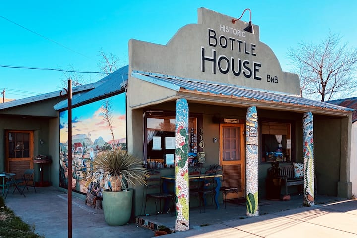 """""""Bottle House"""" DTown Alpine, Marfa"""
