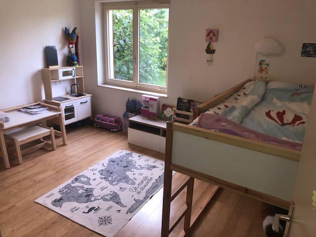 Chambre fille 5 ans avec lit superposé