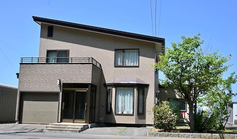 Ocean view family house in central Utoro,Shiretoko