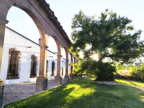 Hacienda att njuta av som en familj i Aculco