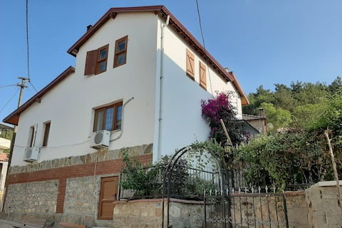 lux furnished villa in the most beautiful village