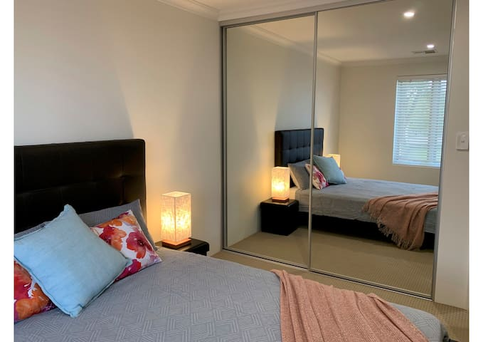 Second bedroom with built-in-robes