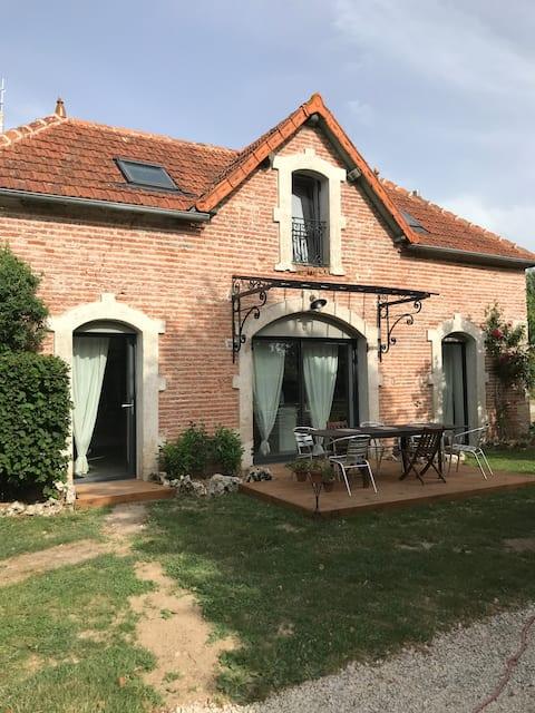 Jolie maison au pays des Vignes bourguignonnes