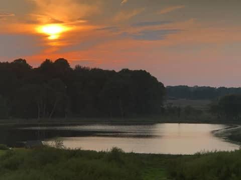 Serenity on School Lake