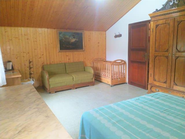 Camera matrimoniale 2 piano