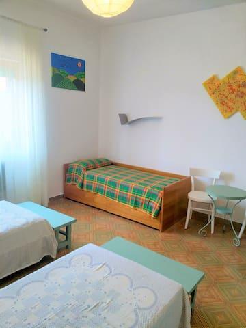 Camera letti singoli 1 piano