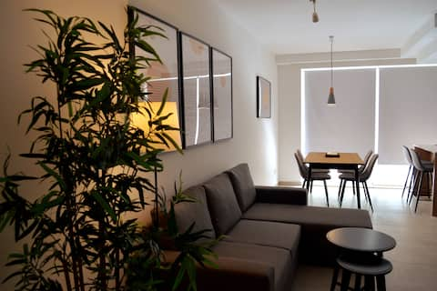 Sliema, Appartement élégant de 2 chambres avec parking.