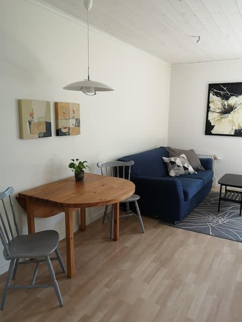 Frische & schöne Wohnung in ruhiger Lage im südlichen Visby