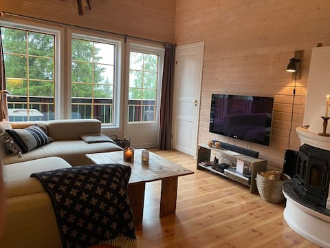 Gemütliche Wohnung, in der Nähe von Hunderfossen und Lillehammer