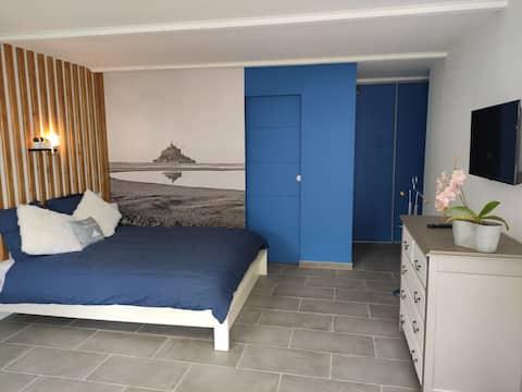 Gite Mont Einzimmerwohnung für 2 Personen Le Mont Saint Michel