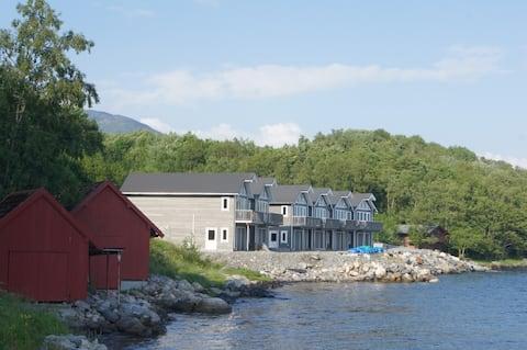 Helt ny rorbu på Slyngstad i Ålesund Kommune