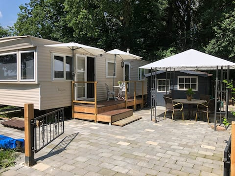 Great mobile home with own shower and toilet