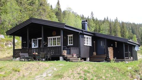 Charmantes Familienhaus mit Anbau auf Norefjell