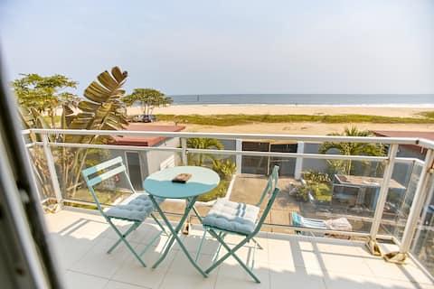 Duplex moderne avec vue exceptionnelle sur la mer