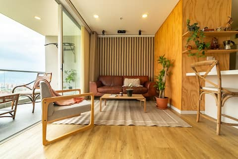 Stylish Apartment in Medellins Best Location