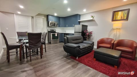 New Private Clean and Cozy 2 Bedroom Suite