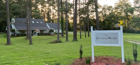 THE LEGACY HOUSE Opening July 1st! - Special Rate!