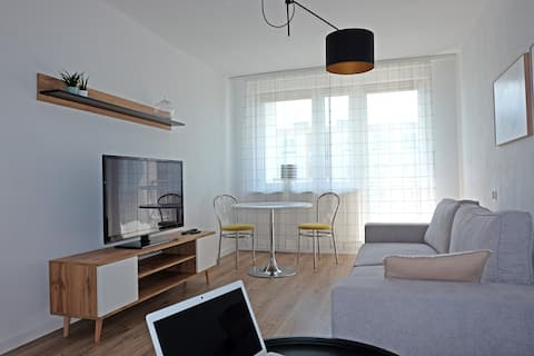 A spacious apartment for holidays and weekends
