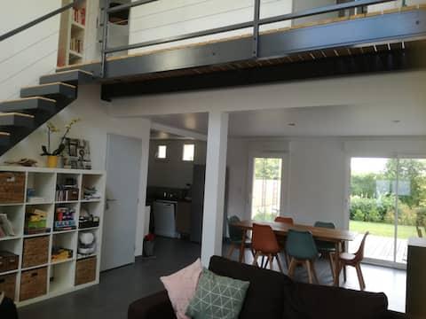 Bocage Bressuirais : jolie maison contemporaine.