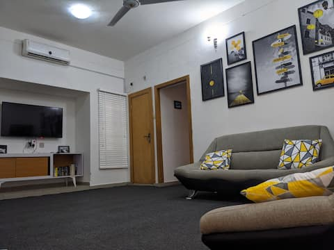 Exquisitely designed two-bedroom flat in Barnawa