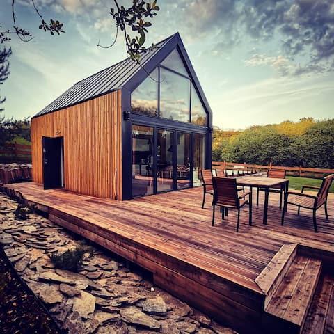 Włókna Inn - nowoczesna stodoła blisko natury