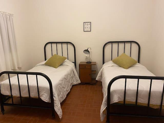 Twin Room/Habitación Twin