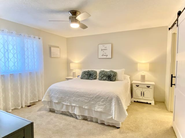 Master Bedroom/ King bed