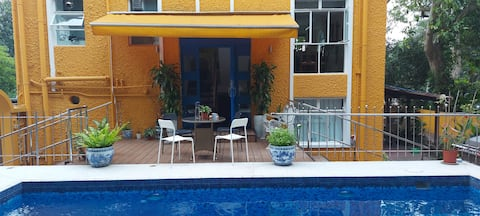 Sai Kung secluded ensuite with private pool, patio