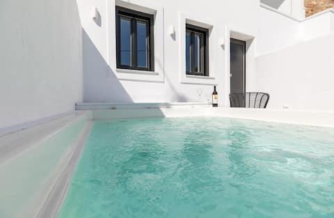 Nostos | Appartement moderne avec jacuzzi privé