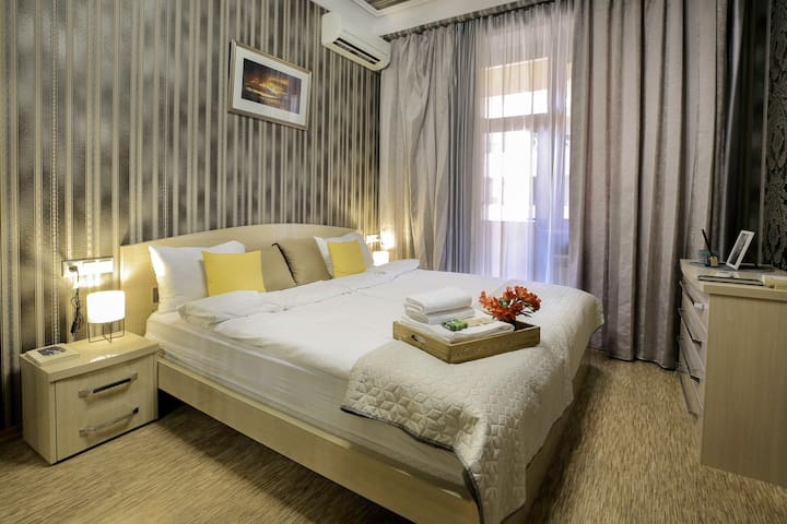 Bedroom - come and enjoy your sleep in this nice and comfortable bedroom.