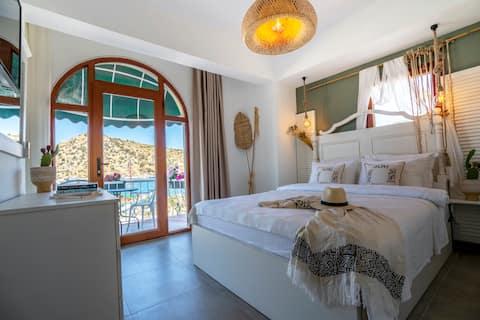 doubleroom with balcony & seaview , Breakfast