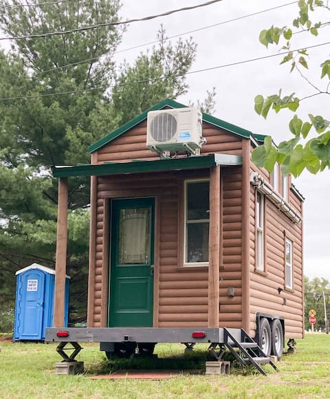 """""""Tiny House"""" Cabin at Spring Lake Campground"""