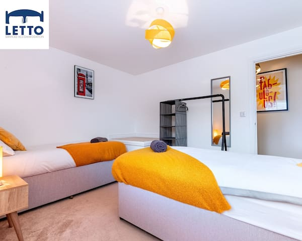 Bedroom at Letto Serviced Accommodation